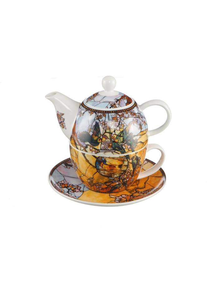 Goebel Tea for One Louis Comfort Tiffany - Sittiche