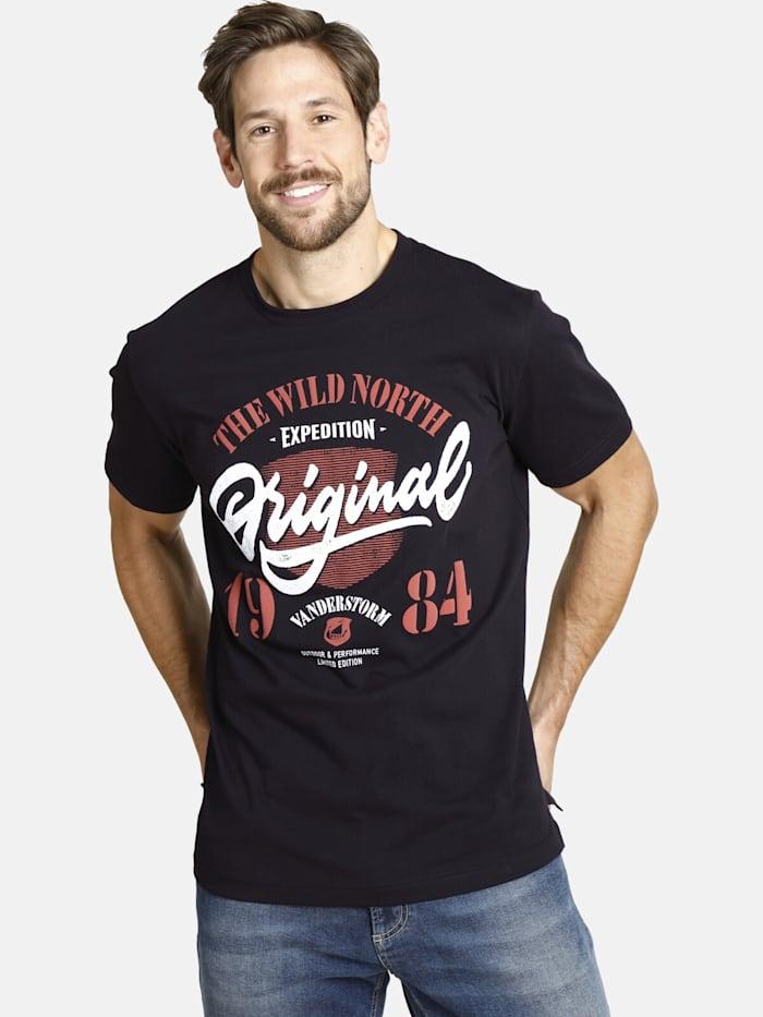 Jan Vanderstorm Jan Vanderstorm T-Shirt DORMOD, schwarz