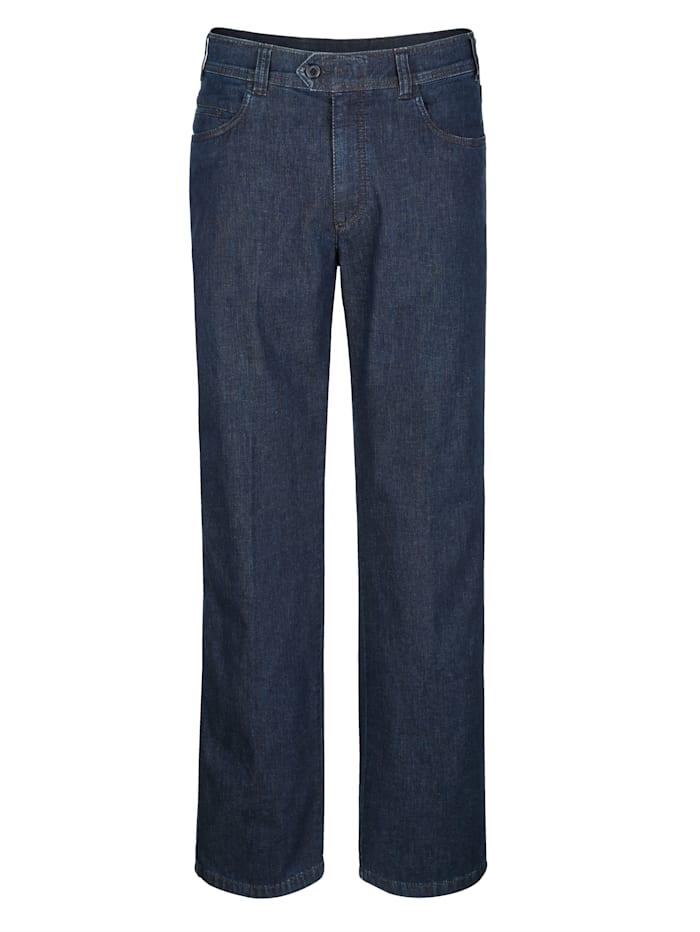 Brühl Swing-Pocket Jeans in Marken-Qualität, Dark blue