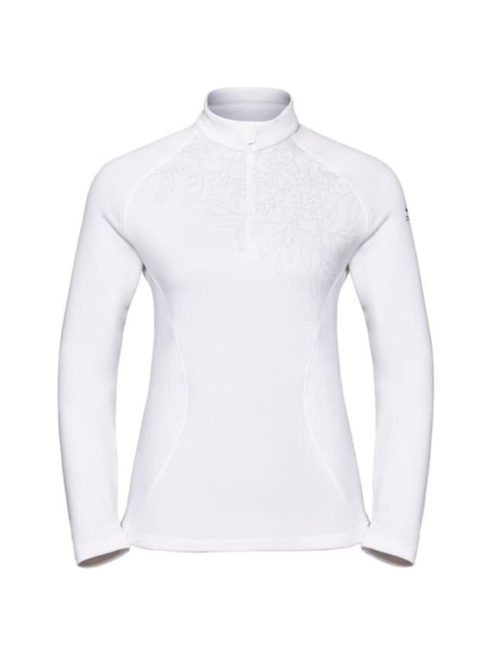 Odlo Odlo Shirt Midlayer 1/2 zip GLADE, Weiß