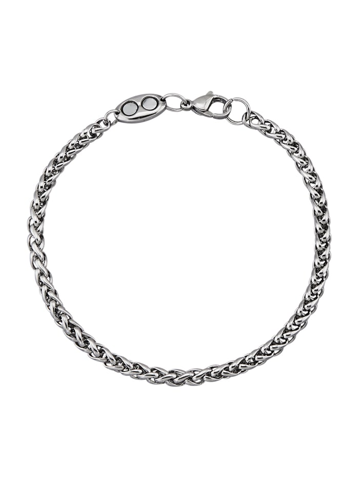Magnetic Balance Koordarmband, Zilverkleur