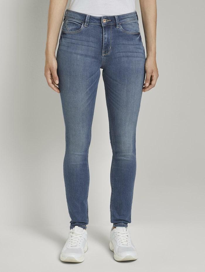 Tom Tailor Denim Nela Extra Skinny Jeans, mid stone wash denim
