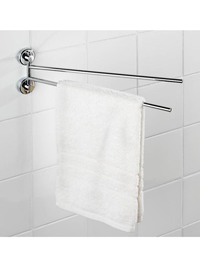Power-Loc® Handtuchhalter mit 2 Armen Sion, Befestigen ohne bohren