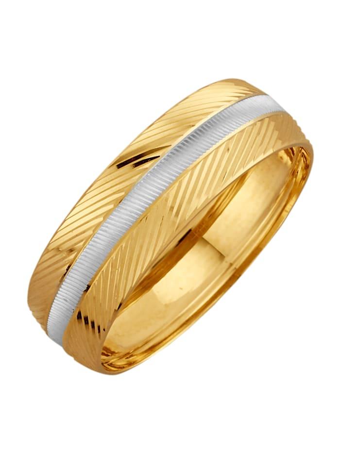 Förlovningsring i 14 k guld, Guldfärgad