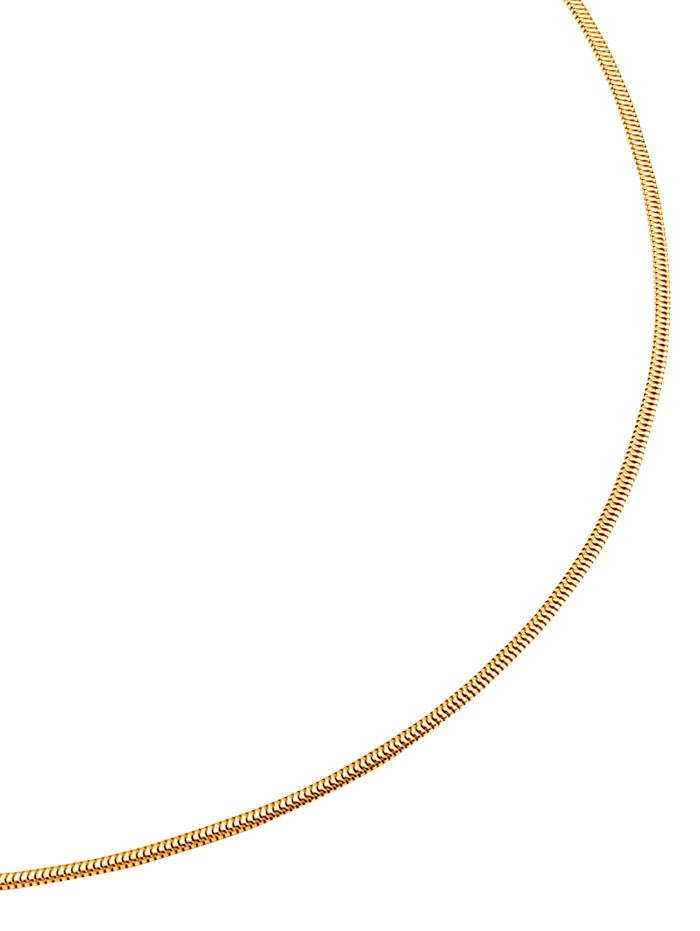 KLiNGEL Schlangenkette in Gelbgold, Gelbgoldfarben