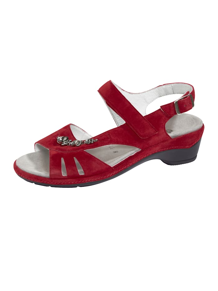 Semler Sandalette, Rot