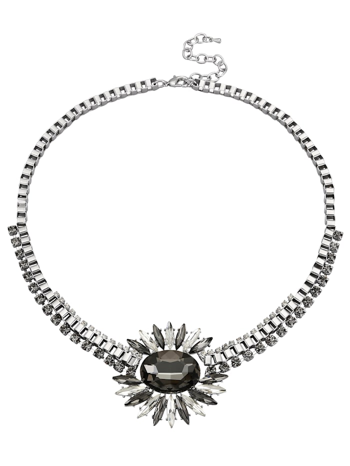 Collier mit Glassteinen