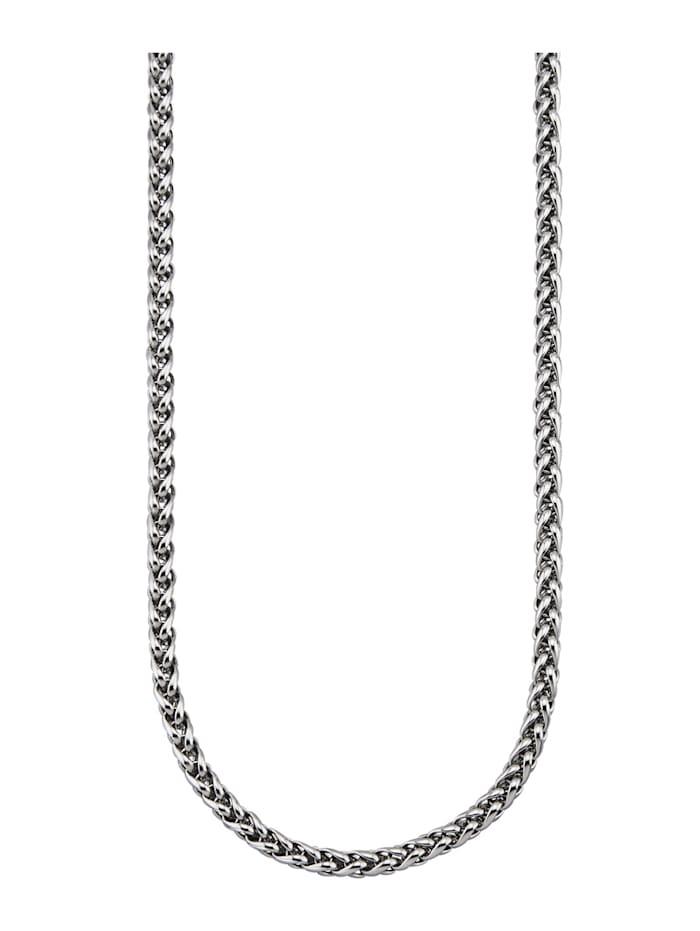 Magnetic Balance Zopfkette, Edelstahl, Silberfarben