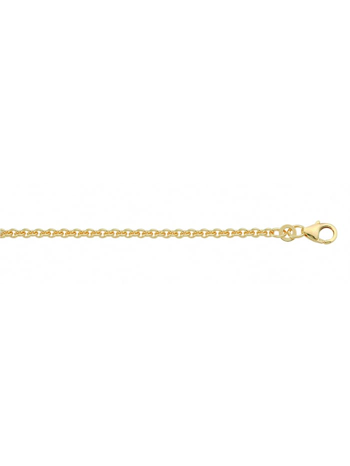 1001 Diamonds Damen Goldschmuck 585 Gold Anker Halskette Ø 1,1 mm, gold