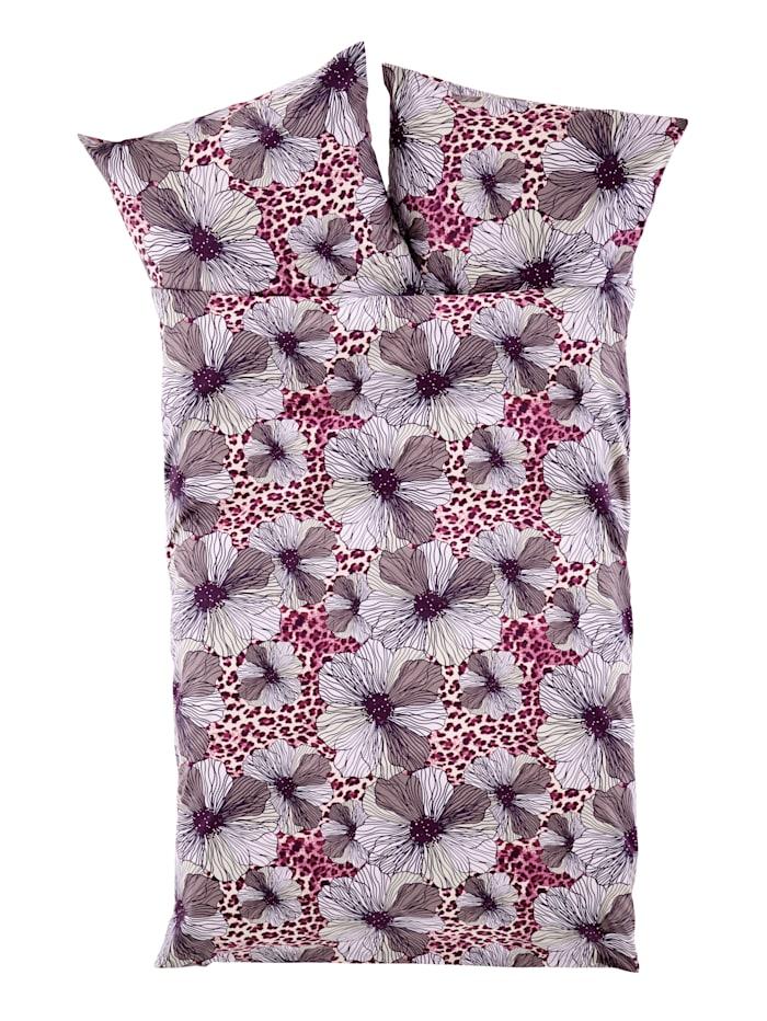 Webschatz Biber posteľná bielizeň Linda, fialová
