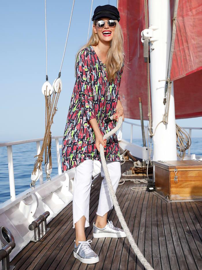 MIAMODA Shirt in een mooie kleurencombinatie, Multicolor