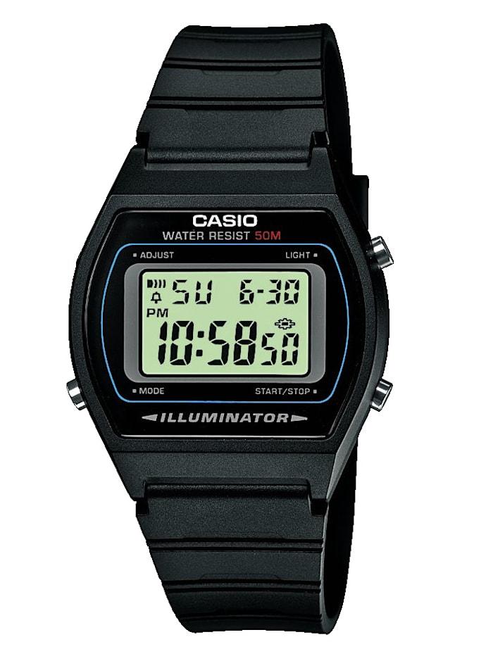 Casio Digitaluhr-Chronograph W-202-1AVEF, Schwarz
