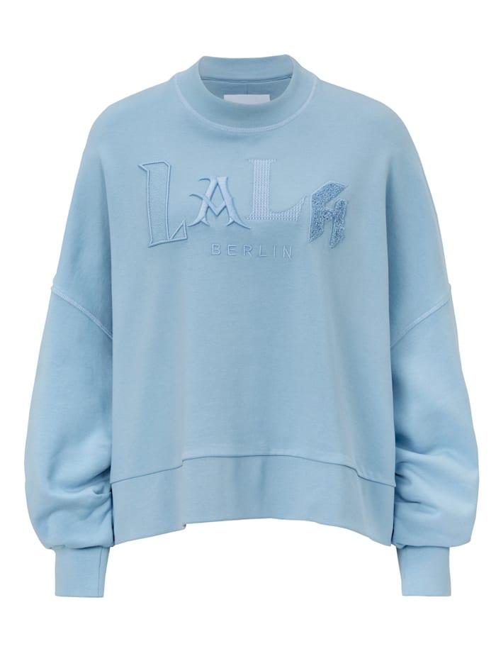 Lala Berlin Sweatshirt, Hellblau