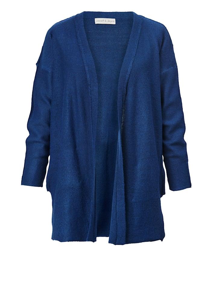 Janet & Joyce Lang vest, Royal blue