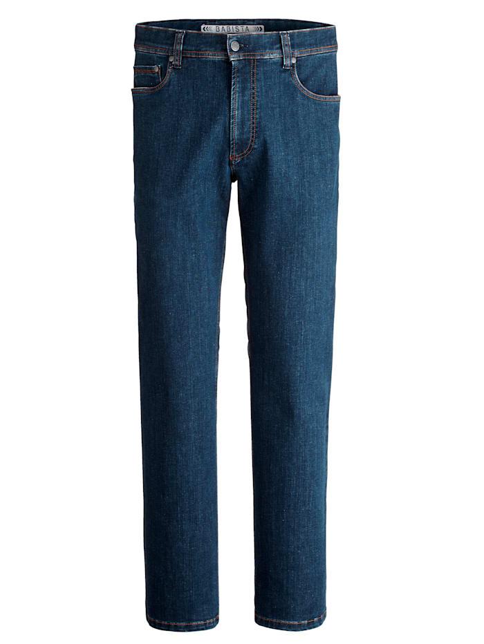 BABISTA Jeans van stevige stof, Donkerblauw