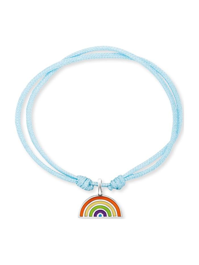 Engelsrufer Engelsrufer Mädchen-Armband 925er Perlon/Nylon, silber