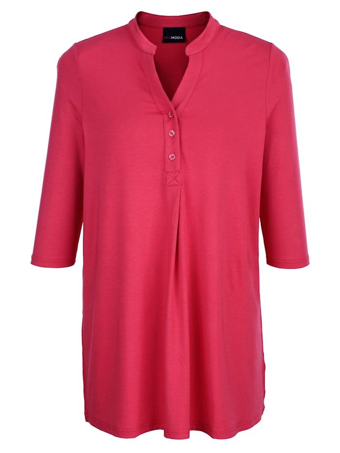 Dlouhé tričko s knoflíkovou légou