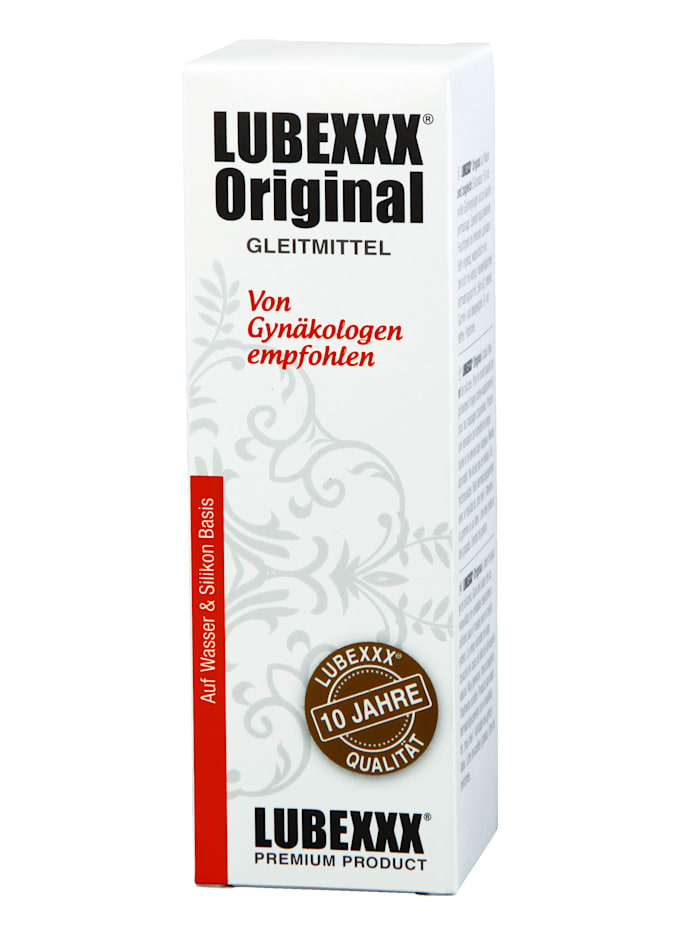 Lubrikační gel Lubexxx, bílá