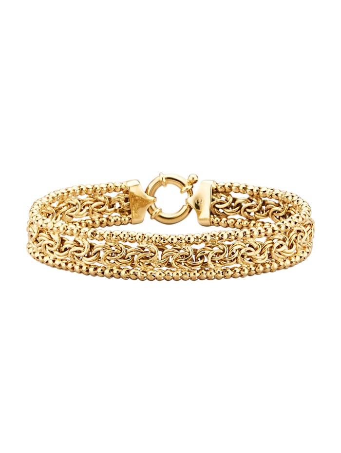 Bracelet en argent 925, doré, Coloris or jaune
