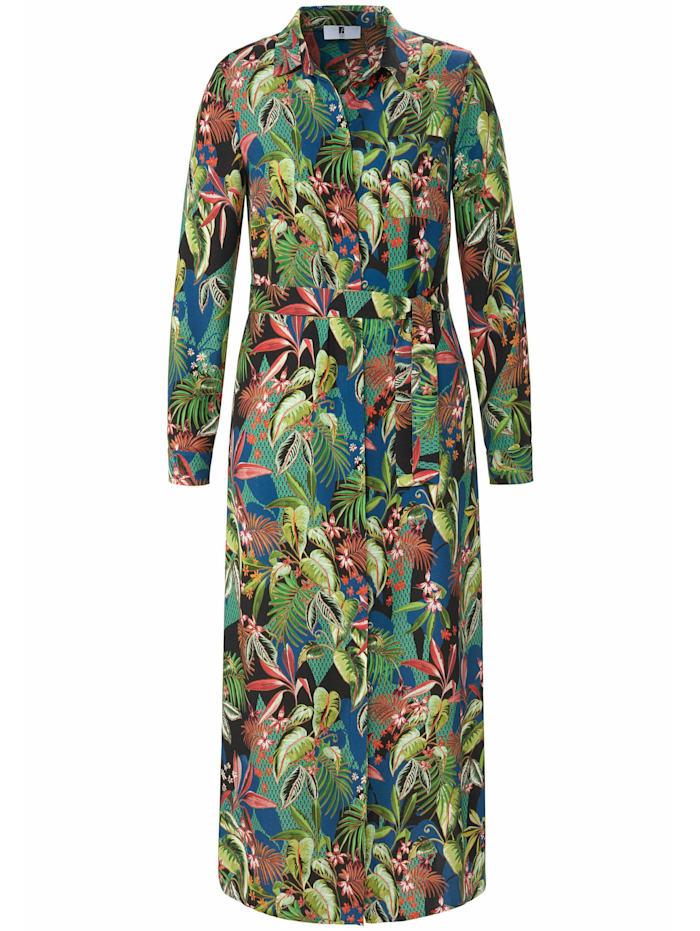 Emilia Lay Abendkleid Kleid mit Bindegürtel, multicolor