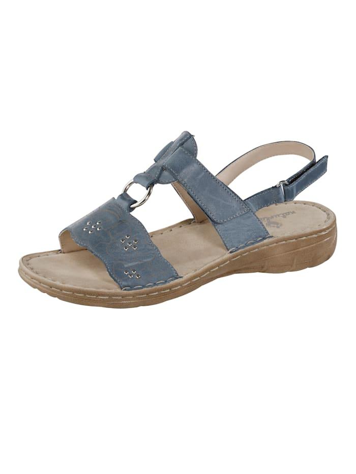 Naturläufer Sandale, Blau