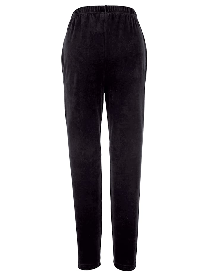 Leisure Trousers In soft velour