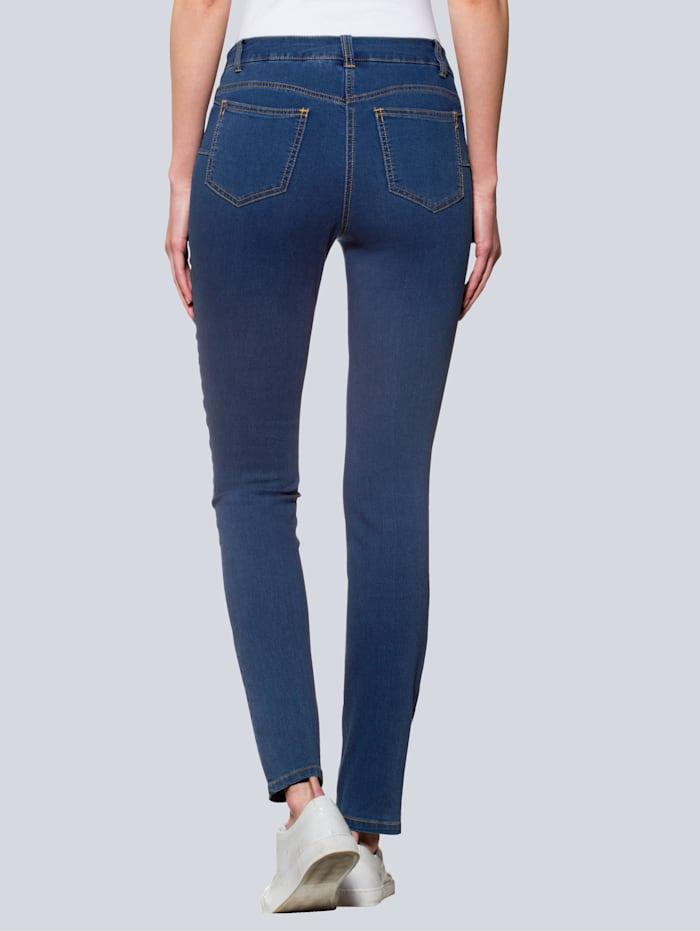 Jeans med ettersittende ben