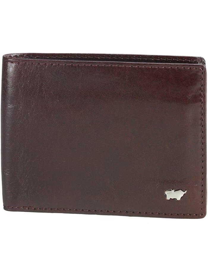 Braun Büffel Basic Geldbörse I Leder 11,5 cm, cognac