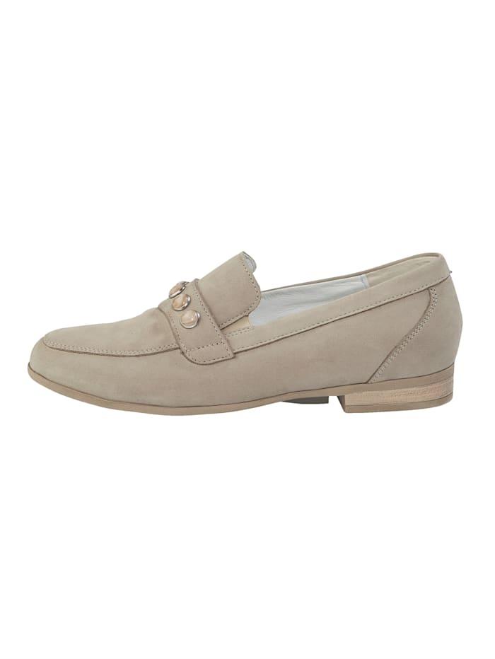 Helmikoristellut kengät