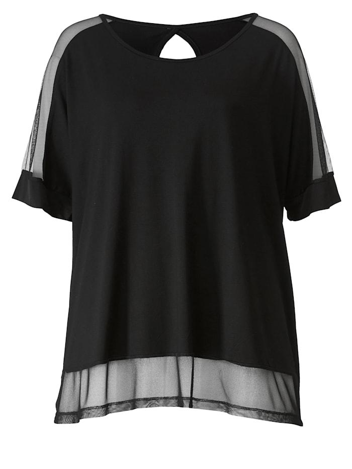 Shirt mit Meshware