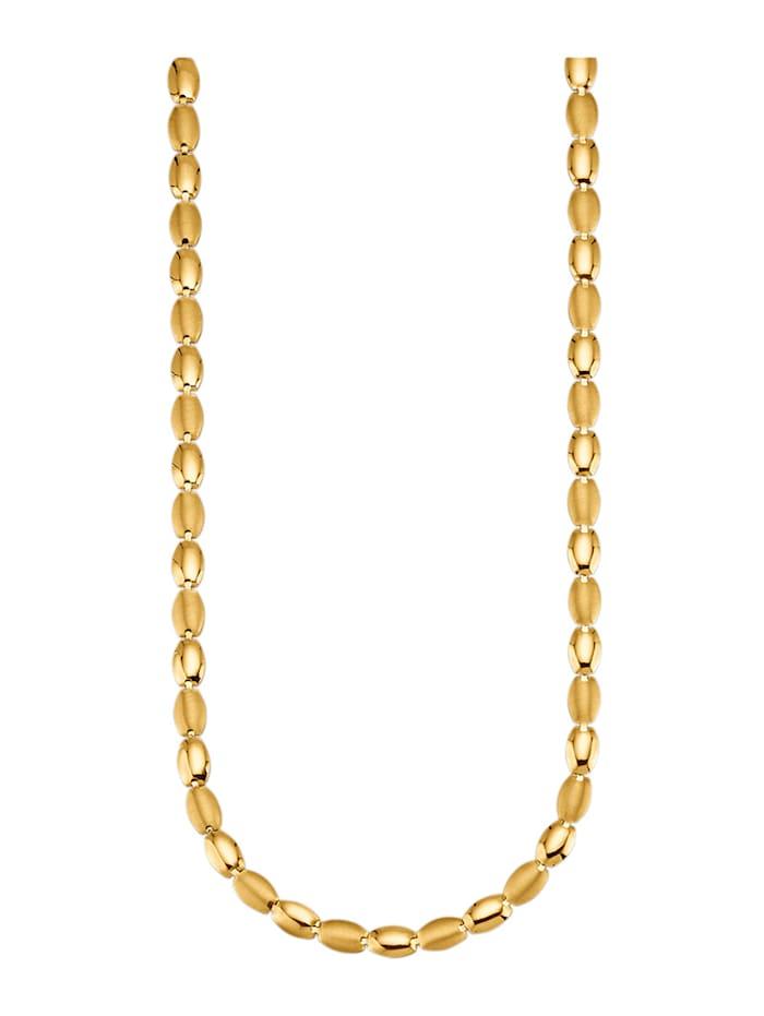 Amara Or Collier en or jaune 585, Coloris or jaune