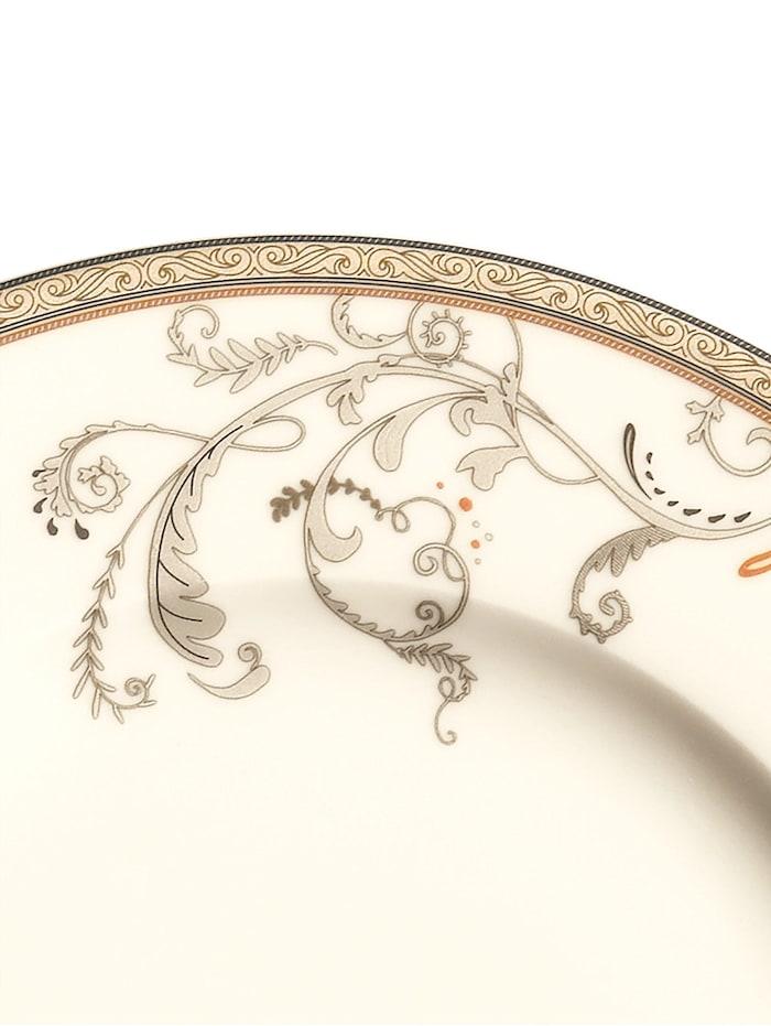 Creatable Porcelánový servis Amélia, Prírodná biela