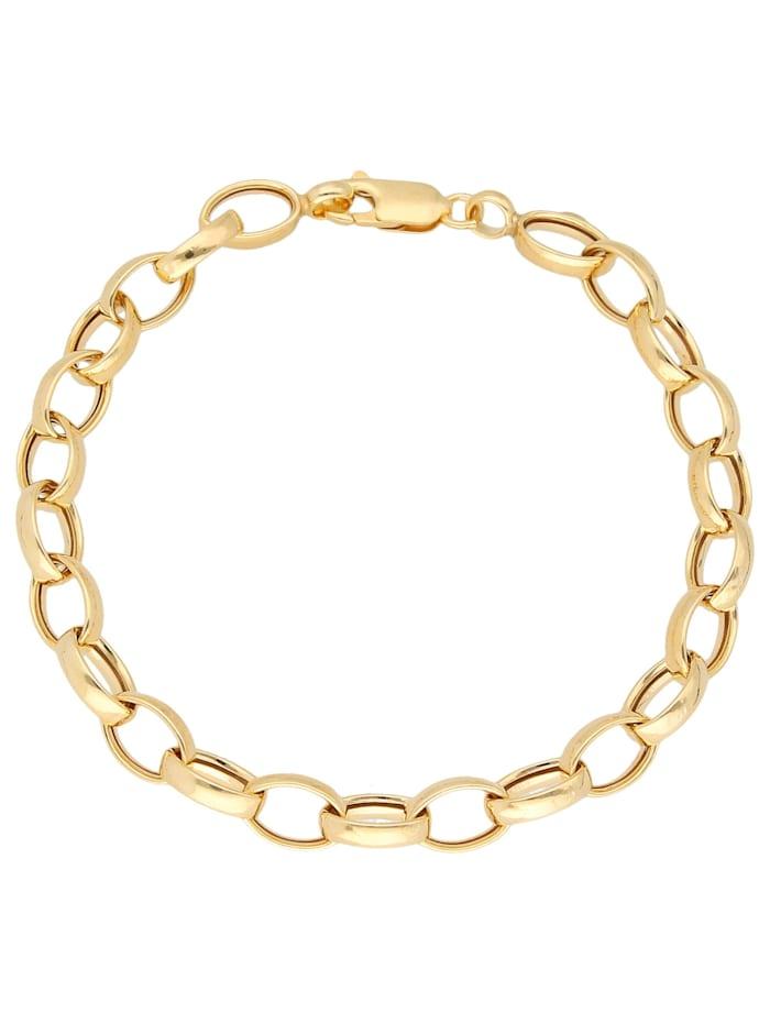Luigi Merano Armband ovale Glieder, Gold 375, Gold
