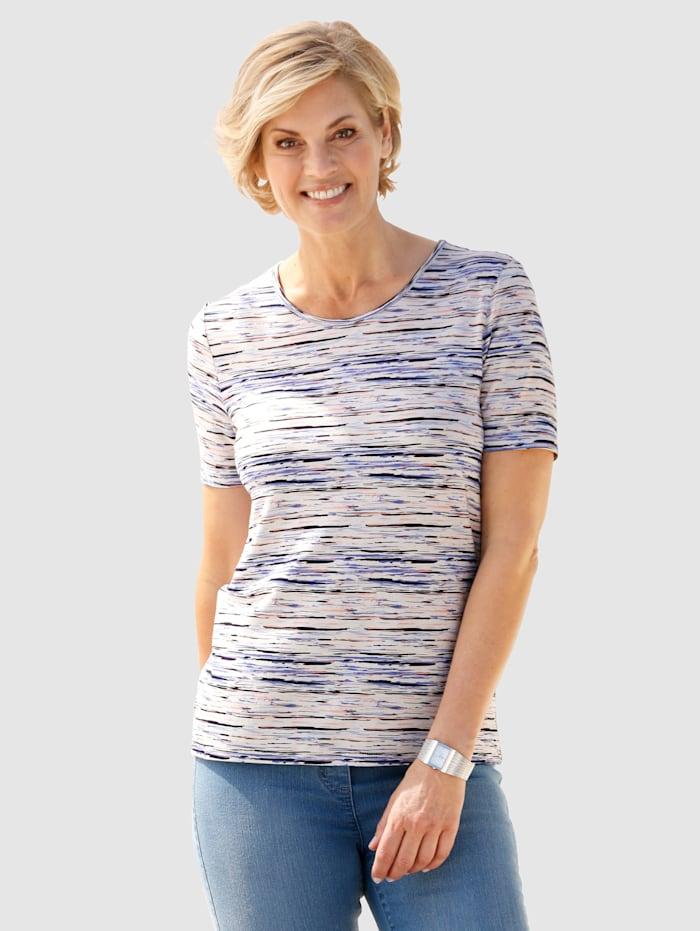 Shirt mit Streifen rundum