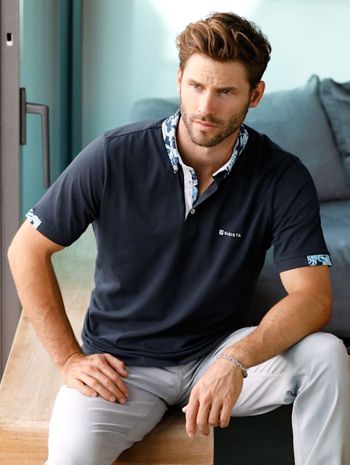 Poloshirt met button-downkraag