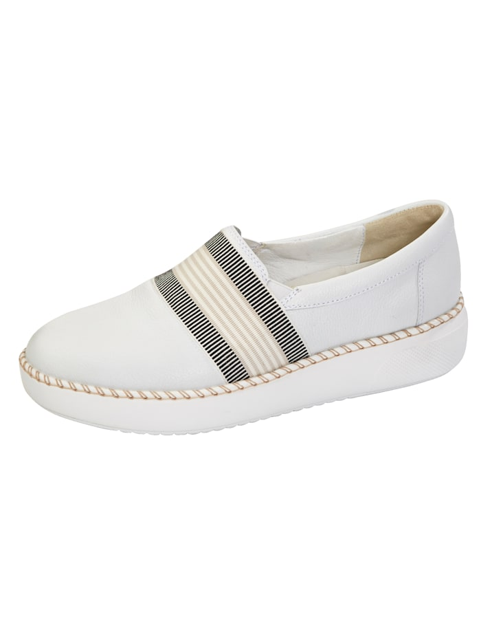 Waldläufer Slip-on shoes, White