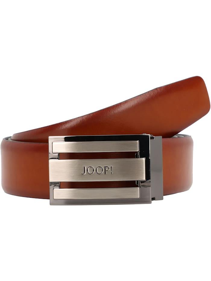 JOOP! Coll.Belt Gürtel Leder, cognac