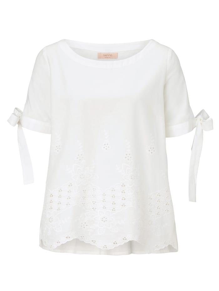 SIENNA Bluse, Weiß