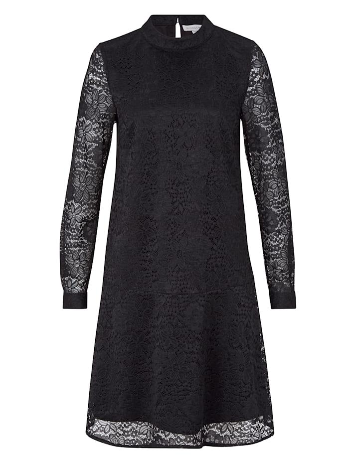 ROCKGEWITTER Kleid aus Spitze, Schwarz