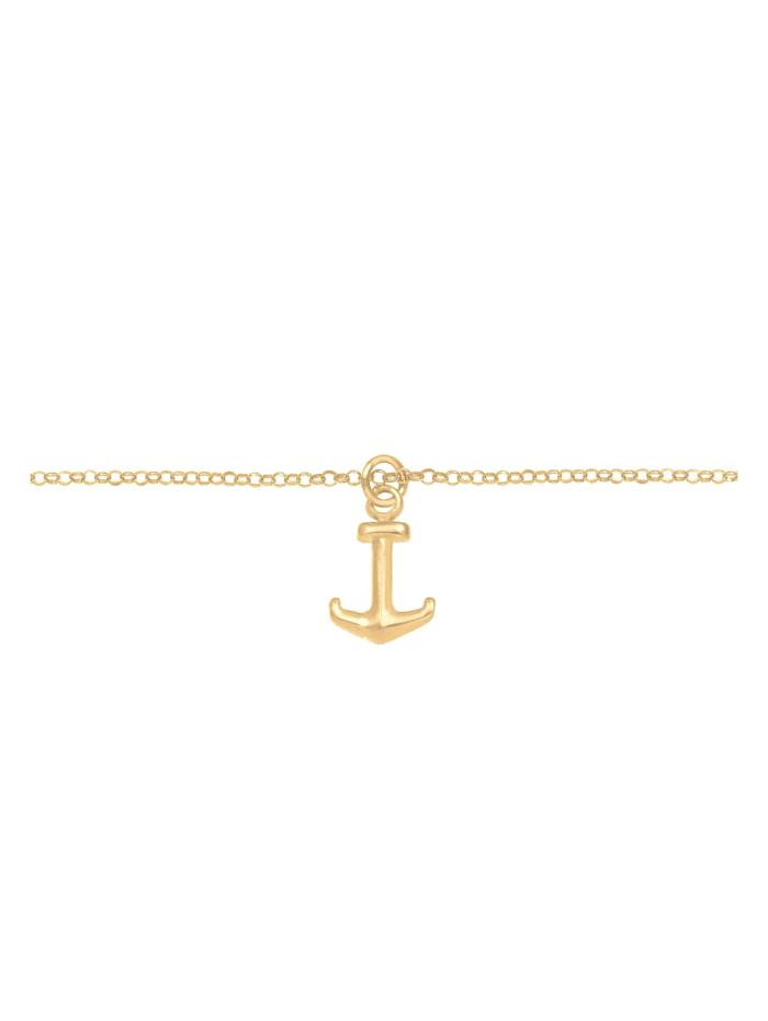 Halskette Choker Anker Maritim Meer Erbskette 925 Silber