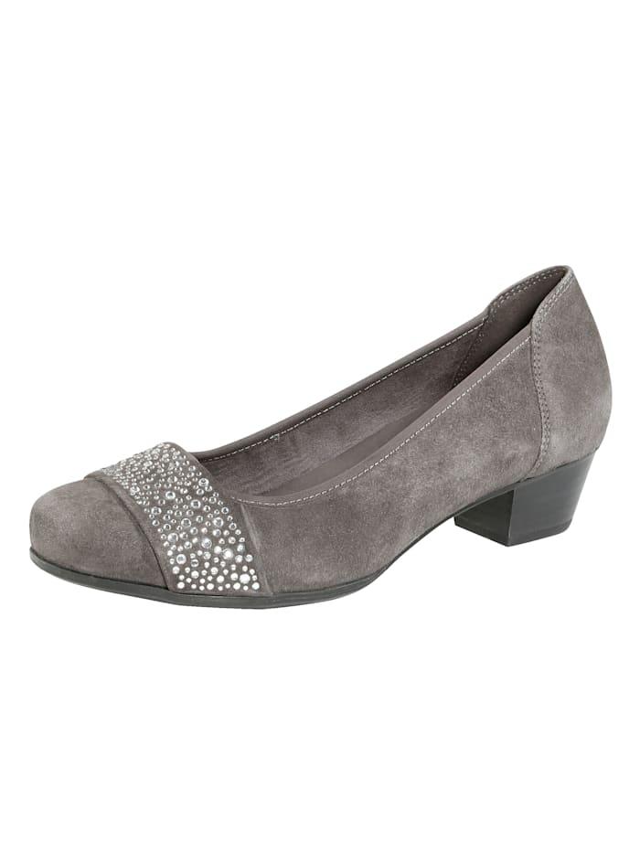MONA Court shoes, Grey