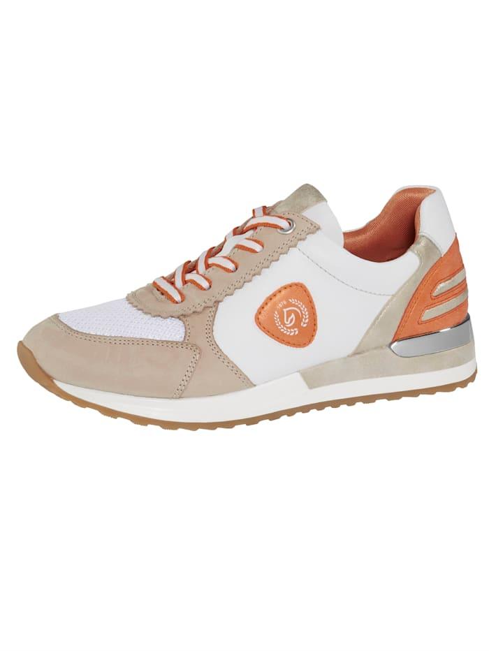Remonte Sneaker in harmonischer Farbkombination, Sand