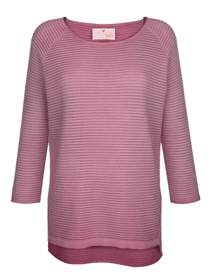 Pullover in Rippen-Optik