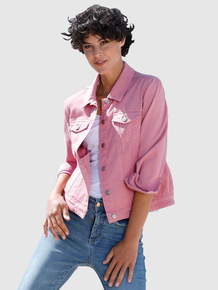 Dress In Veste en jean de coupe moderne, Lavande