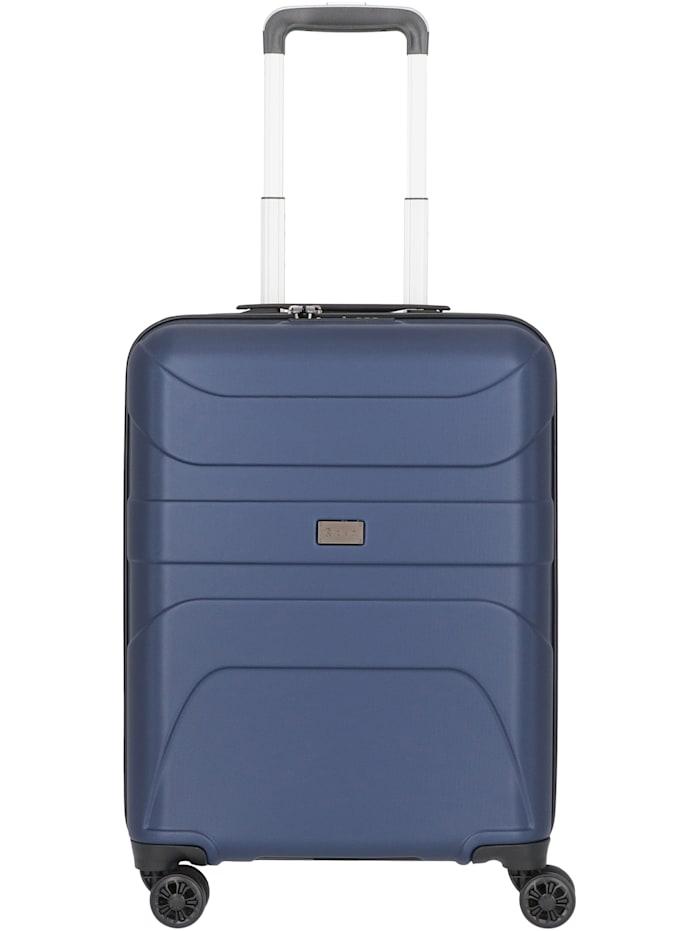 D&N Travel Line 2100 4-Rollen Kabinentrolley 55 cm, blau