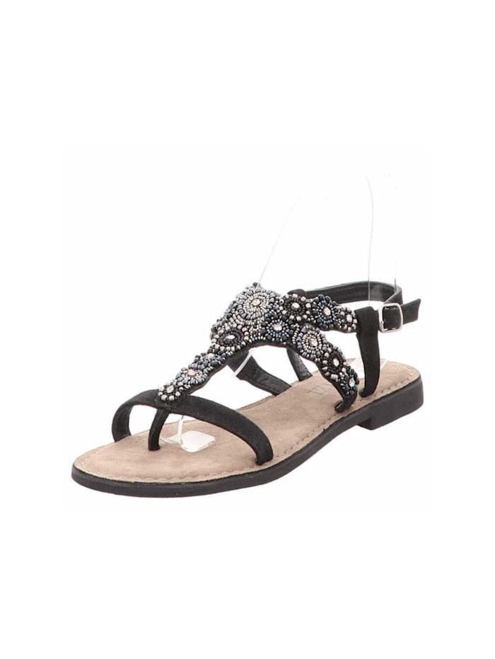 Lazamani Sandalen/Sandaletten, schwarz