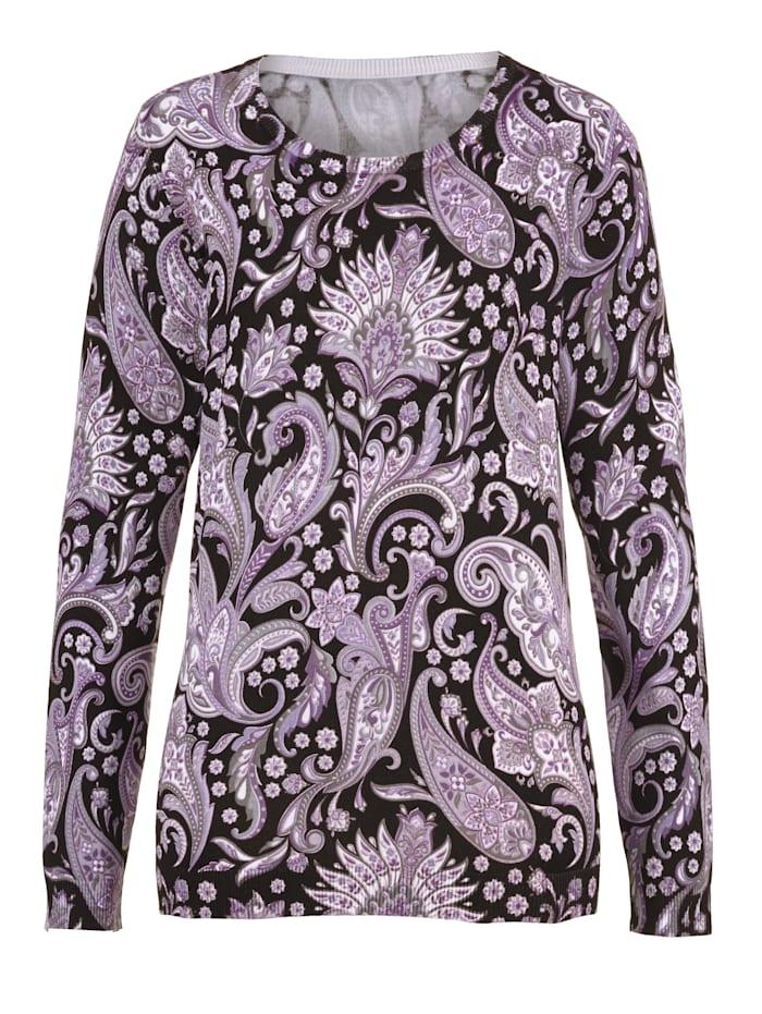 Pullover in schönem Paisleymuster