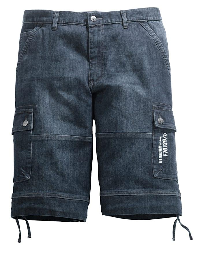 Bermuda cargo en jean