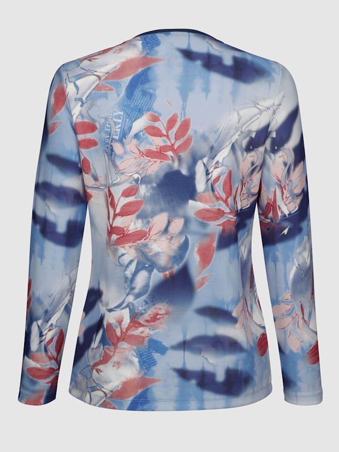 Tričkový kabátik so vsadkami v kontrastnej farbe