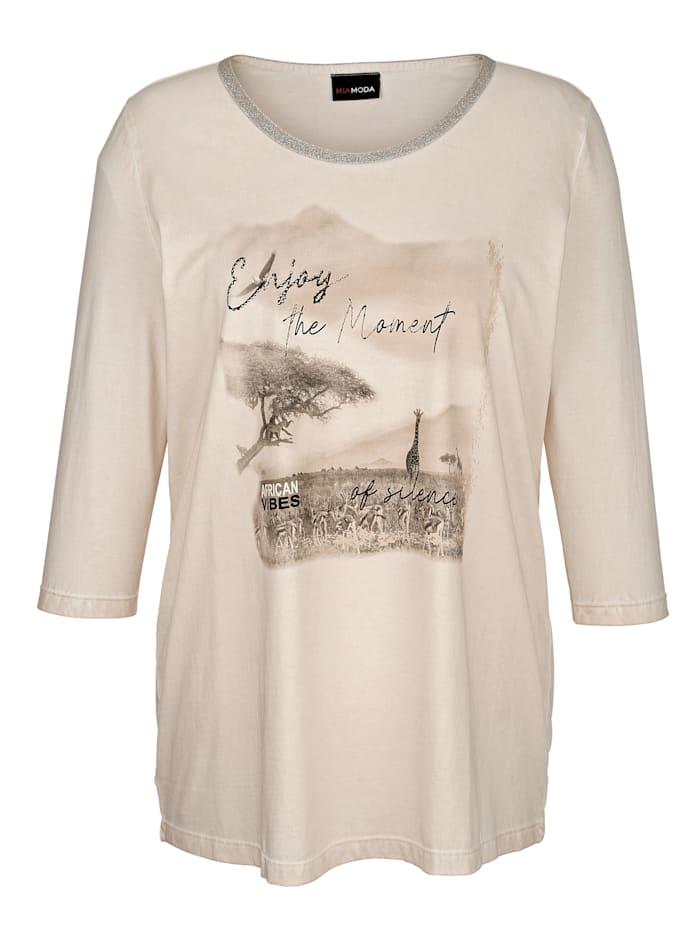 Shirt in Oil-Dyed Optik